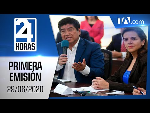 Noticias Ecuador: Noticiero 24 Horas 29/06/2020 (Primera Emisión)из YouTube · Длительность: 50 мин24 с