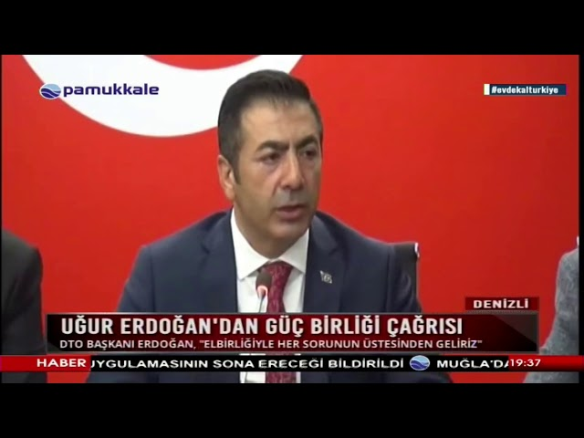 Pamukkale TV-Erdoğan'dan güç birliği çağrısı 26.03.2020