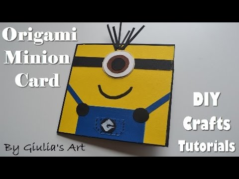 Diy paper crafts easy minion card handmade ideas giulias art diy paper crafts easy minion card handmade ideas giulias art youtube solutioingenieria Gallery