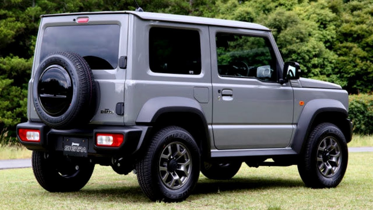 2019 suzuki jimny sierra exterior and interior awesome. Black Bedroom Furniture Sets. Home Design Ideas