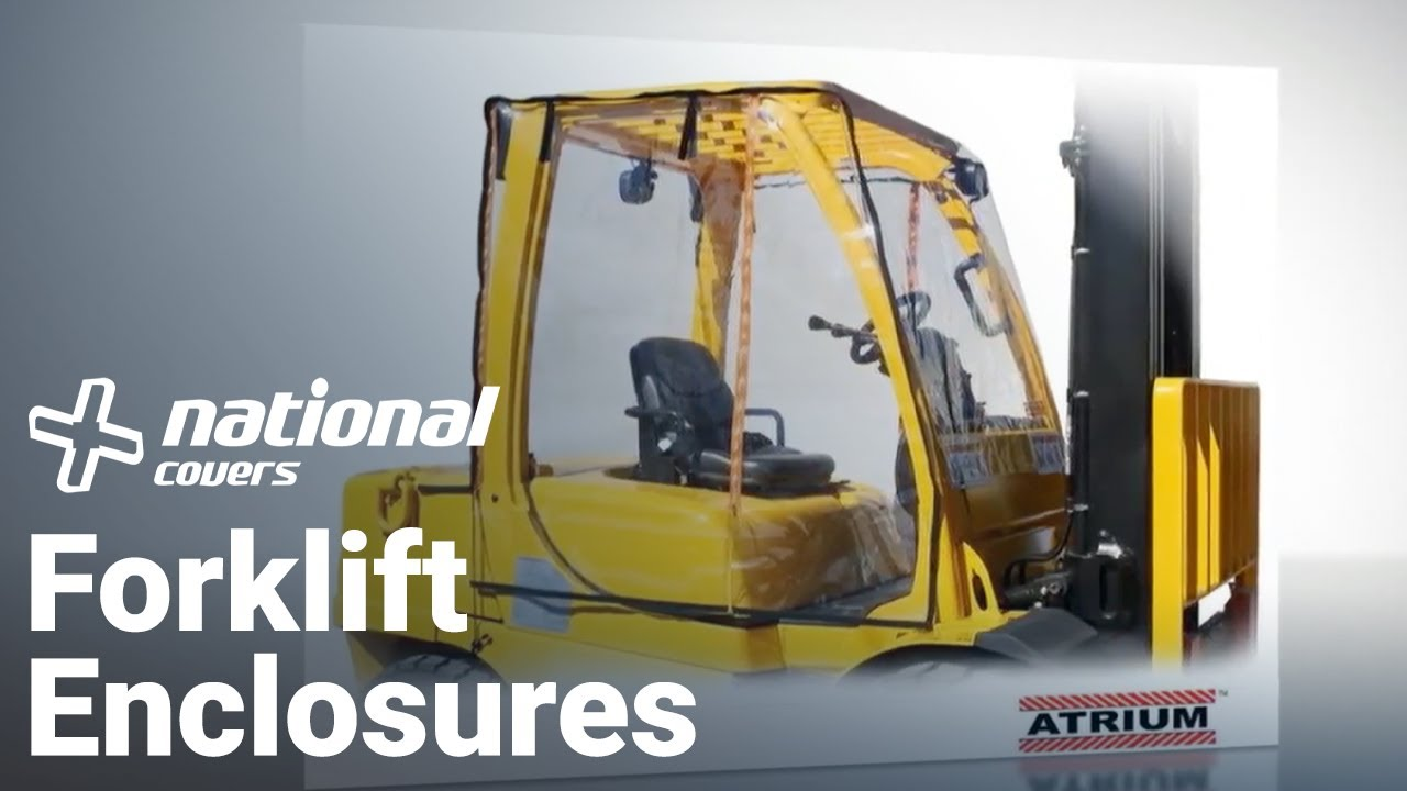 forklift cover reviews atrium full forklift enclosure review