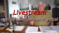 Ich bin LIVE für euch! - 10.000-Abonnenten-Special || Livestream von Meister Jambo