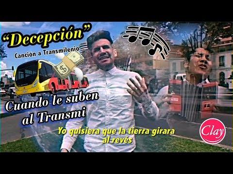 Obsesión (PARODIA) Vallenato   DECEPCIÓN xq subió Transmilenio, Jonatan Clay con Acordeón del Brayan