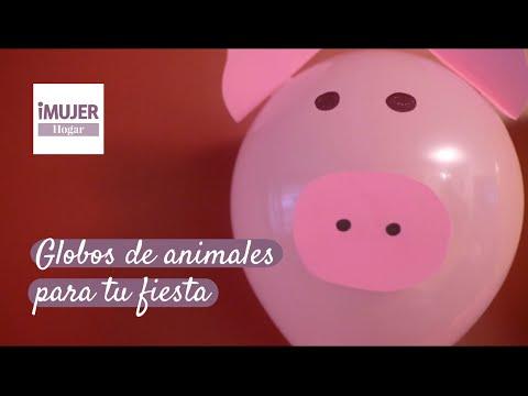 Globos de animales para tu fiesta imujerhogar youtube - Globos para fiesta ...