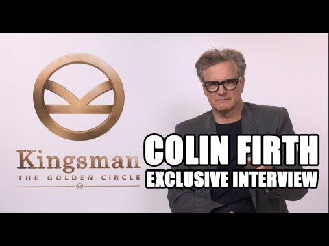 Kingsman: The Golden Circle - Colin Firth Exclusive Interview