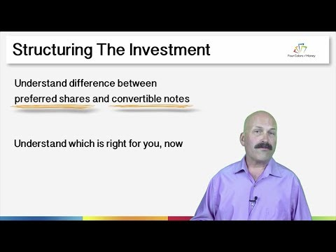 Structuring Equity Investments: Convertible Notes vs. Equity
