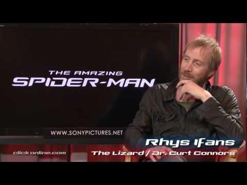 Rhys Ifans Interview - The Amazing Spider-Man