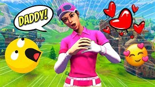 Girl Voice Trolling As Bella The Sassy Fortnite Girl #5 (Call Me Daddy!)