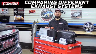 Tech Tip: Comparing Flowmaster Outlaw, American Thunder, and Force II Exhaust Systems