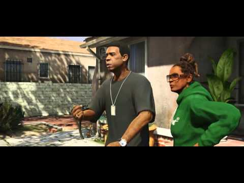 Grand Theft Auto V - Michael. Franklin. Trevor. Trailer - Eurogamer