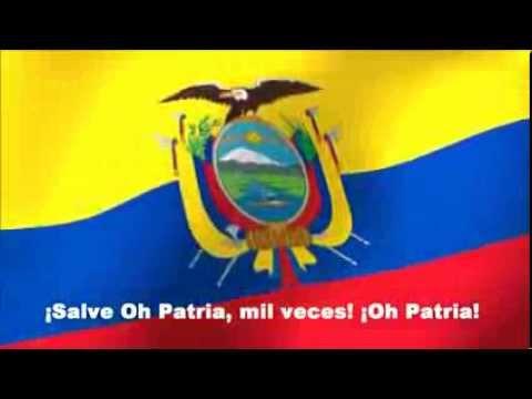 HIMNO NACIONAL DE LA REPUBLICA DEL ECUADOR - Letra