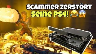 SCAMMER ZERSTÖRT seine PS4 wegen Waffen! (Scammer wurde Gescammt) Fortnite Rette Die Welt