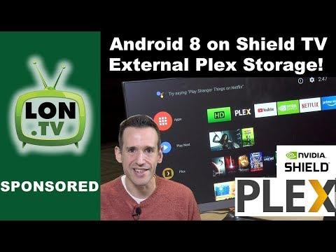 Nvidia Shield TV Android 8 (Oreo) Update! Run Plex Server on 16 GB Shield (non-pro)
