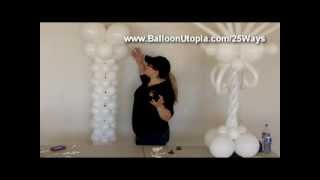 How to Make a Balloon Roman Column or Tower