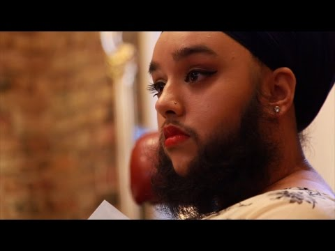 How Youngest Woman With Fully Grown Beard Helps Others Accept Themselves