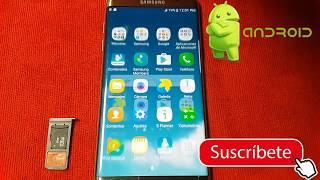 Quitar/Eliminar cuenta GOOGLE/FRP FACIL Samsung Galaxy s7 EDGE 2017