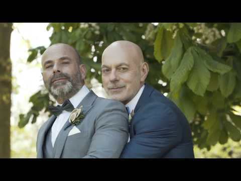 Secret Garden Gay Wedding
