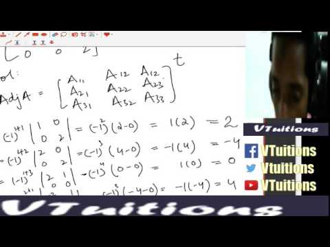 Chapter 4 Matrices and Determinants Maths First Year Class : Sindh Board in  Urdu and Hindi