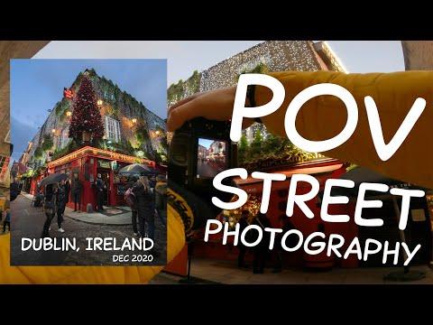 15 mins POV Street Photography in Dublin, Ireland