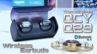 QCY Q29 True Wireless Dual Earbuds BT 4.1 (Unboxing+Review) // Video by s7yler