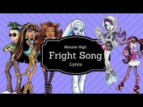 Monster High Fright Songr Lyrics