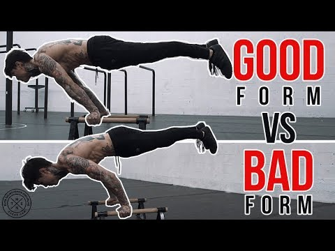 Good Form VS. Bad Form (FIX IT NOW!)