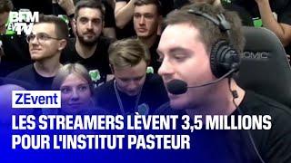 Lors du ZEvent, des streamers lèvent 3,5 millions d'euros pour l'Institut Pasteur