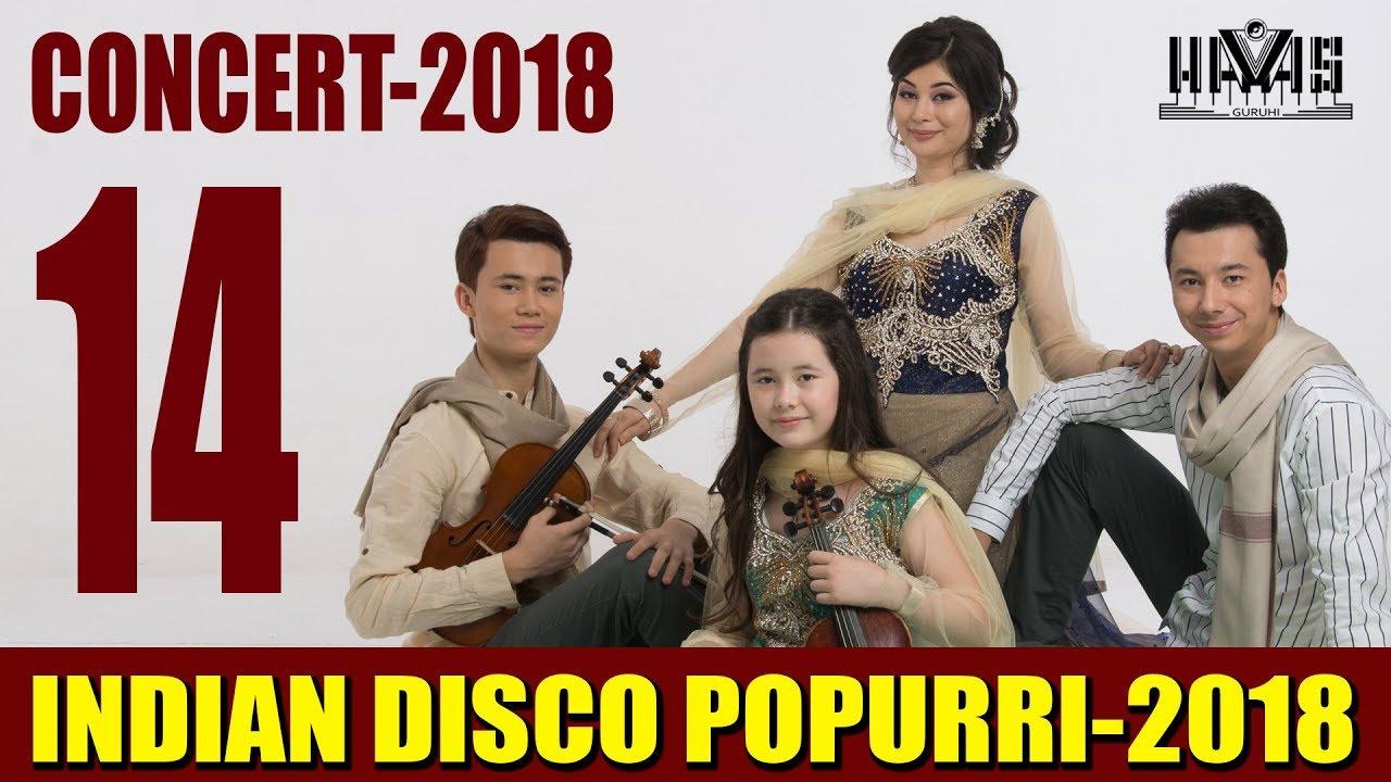 indian disco popurri havas guruhiconcert