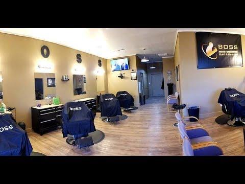 The Boss Men's Groomers New Barbershop Build