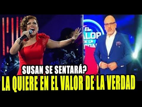 SUSAN OCHOA SI SE SENTARÁ EN EL VALOR DE LA VERDAD SEGUN BETO ORTIZ