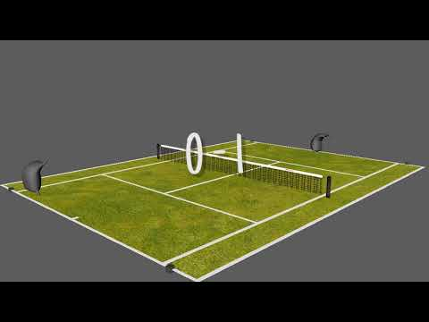 Lawn Tennis Animation by Jotham Matu