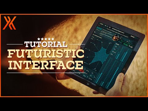 How to create a futuristic iPad UI  HitFilm Express