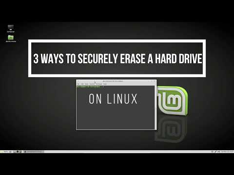 3 Ways To Securely Erase A Hard Drive On Linux