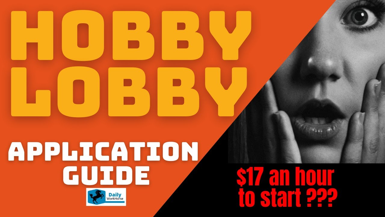 Hobby Lobby Application For Employment And Careers Dailyworkhorse Com