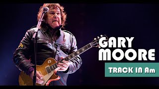 Gary Moore Style Minor Blues Backing Track Jam in Am