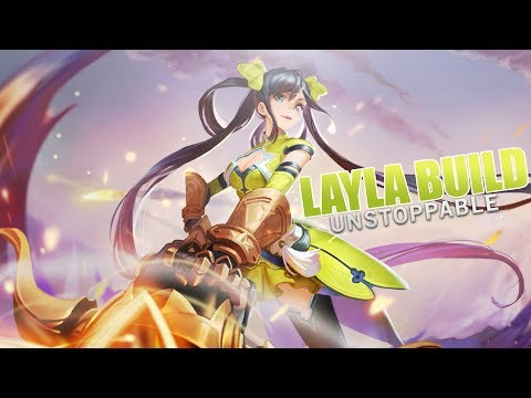 Mobile Legends: LAYLA UNSTOPPABLE BUILD
