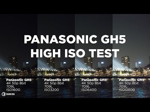 Panasonic GH5 4k High ISO Test from ISO1600 to 12800 // Chung Dha