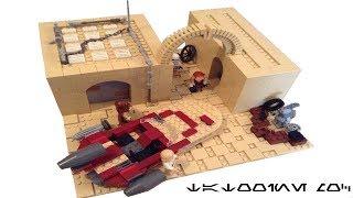 Lego Star wars MOC on Tatooine
