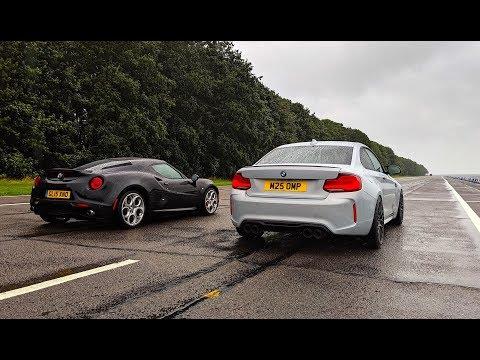 BMW M2 Competition Vs Alfa Romeo 4C With Stef ABTV | Joe Achilles |