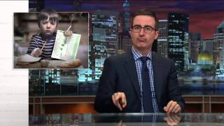 John Oliver: French kid on American Education