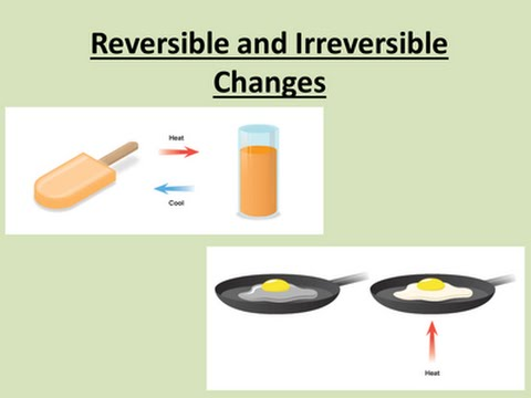 Reversible and irreversible reactions - YouTube