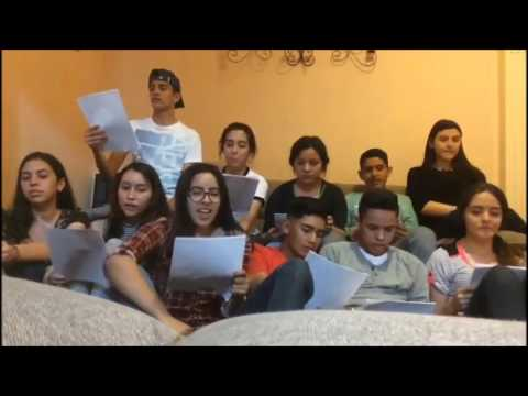 Activity of english karaoke song