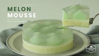 반짝반짝~✦❛ั ᗜ❛✦ 멜론 무스케이크 만들기 : Melon mousse cake Recipe - Cooking tree 쿠킹트리*Cooking ASMR