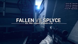 ESL Pro League Season 6: FalleN vs Splyce