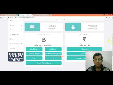 How To Transfer Money From Blockchain To Indian Bank Account -- Convert BTC Into INR
