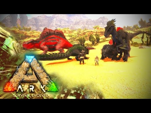 MODDED ARK: Scorched Poop ~ Ep 1 ~ SO MANY BAD THINGS!!