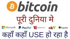 पूरी दुनिया में कहाँ कहाँ use हो रहा है ? Bitcoin Accepted Here Where to Spend Your Btc Hindi/Urdu