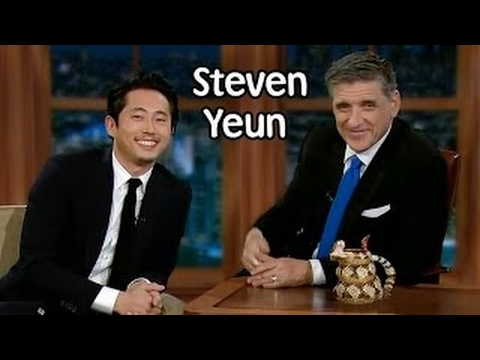 Craig Ferguson 2013 11 15 Steven Yeun, Summer Glau