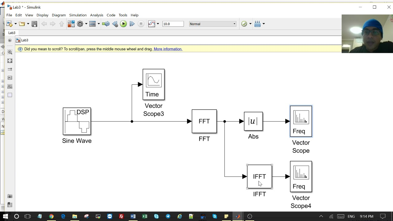 How to Generate a Sine Wave, Use FFT and IFFT in Simulink