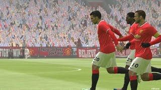 Pro Evolution Soccer 2015 Manchester United Vs Liverpool PC Gameplay